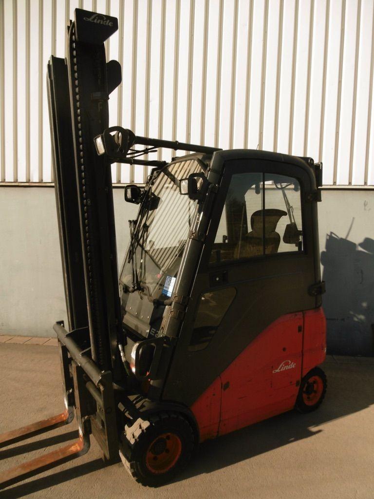 Linde E20PH-386 Elektro 4 Rad-Stapler www.nortruck.de
