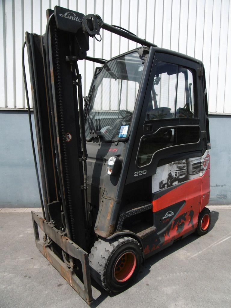Linde E35HL-387 Elektro 4 Rad-Stapler www.nortruck.de