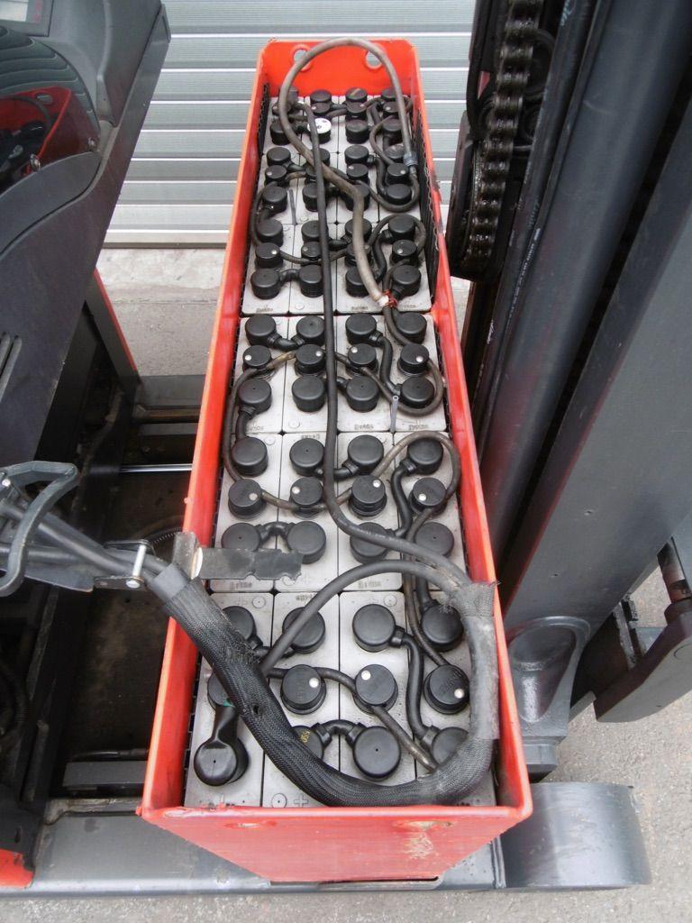 Linde R14S-12-115 Schubmaststapler www.nortruck.de