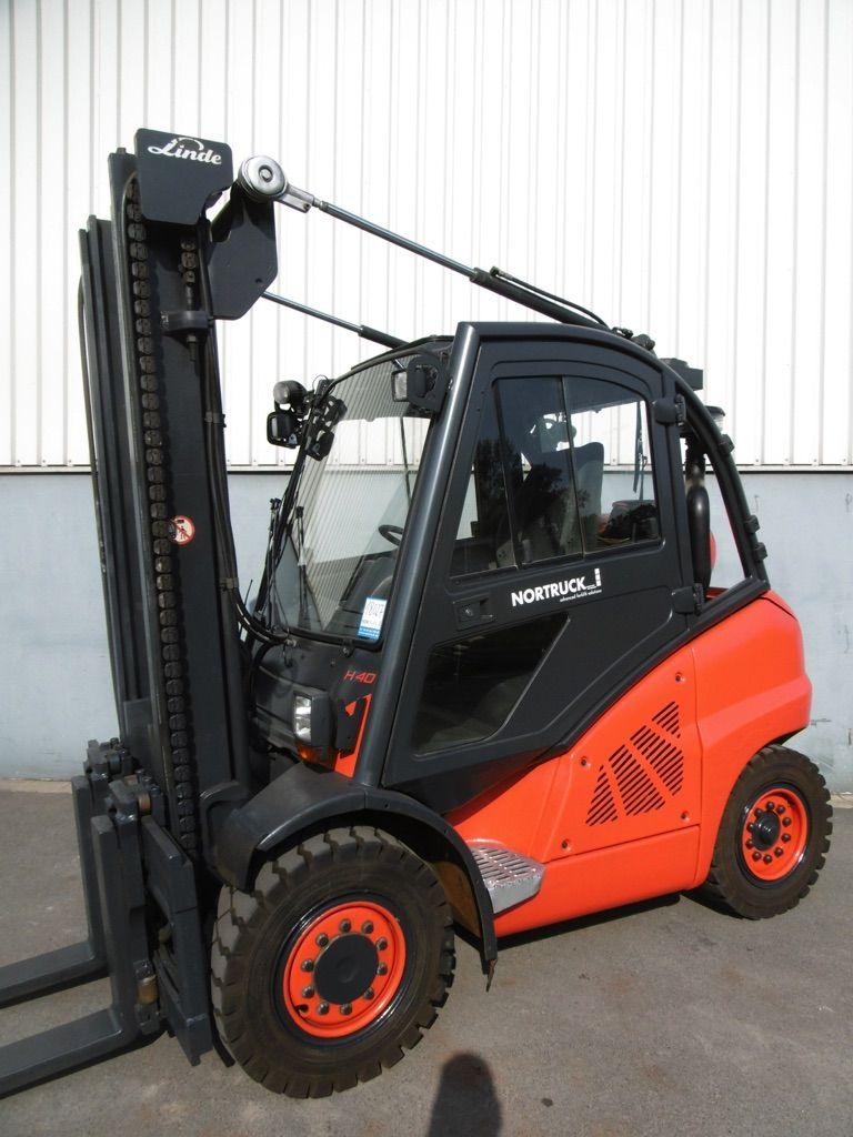 Linde H40T-394 Treibgasstapler www.nortruck.de