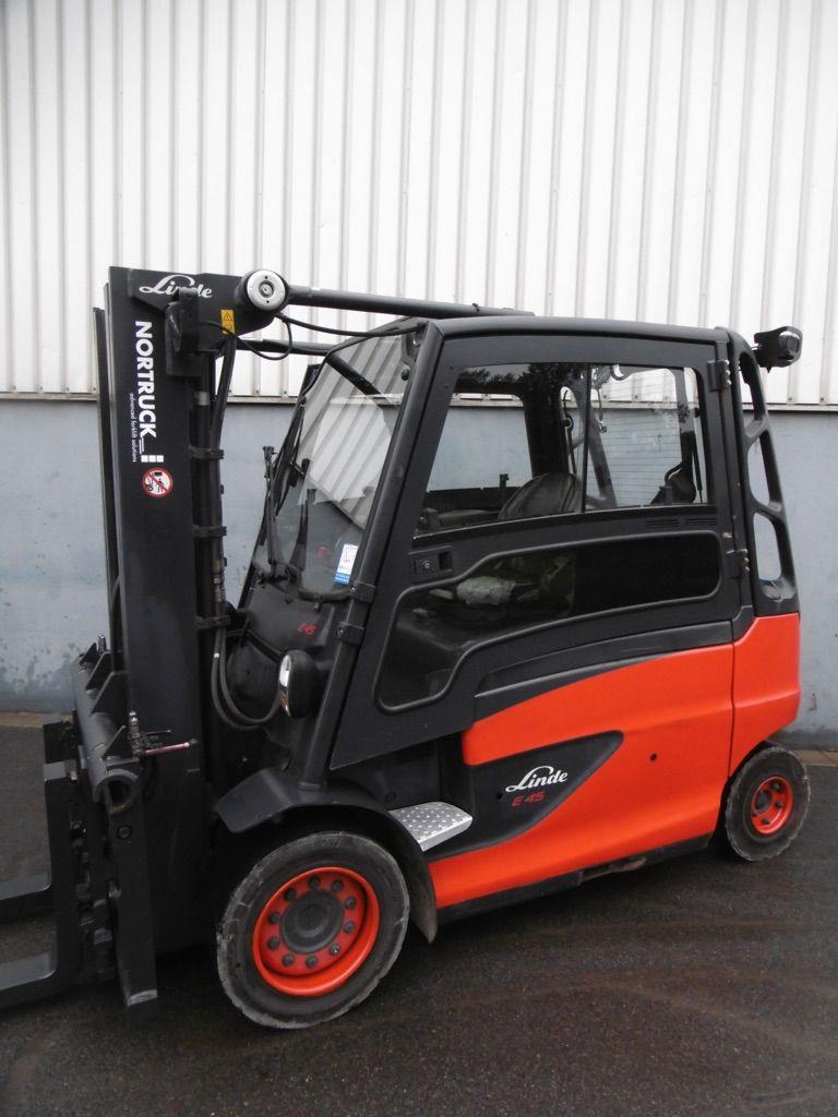 Linde E45L/600-388 Elektro 4 Rad-Stapler www.nortruck.de