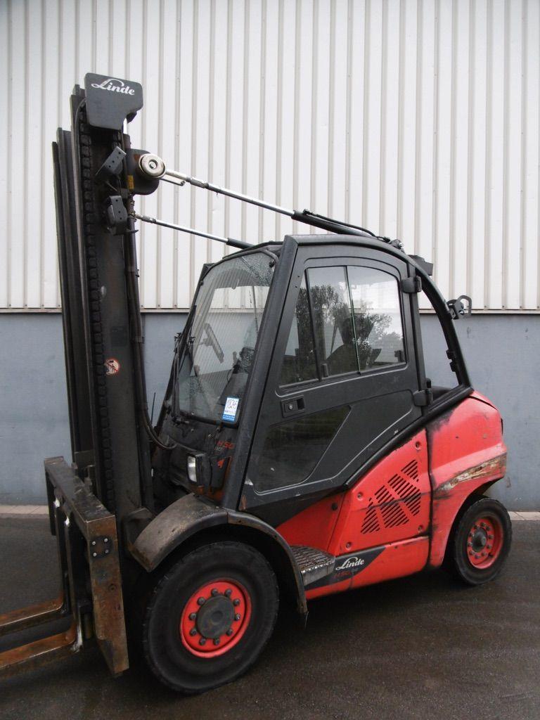 Linde H50D-394-EVO Dieselstapler www.nortruck.de