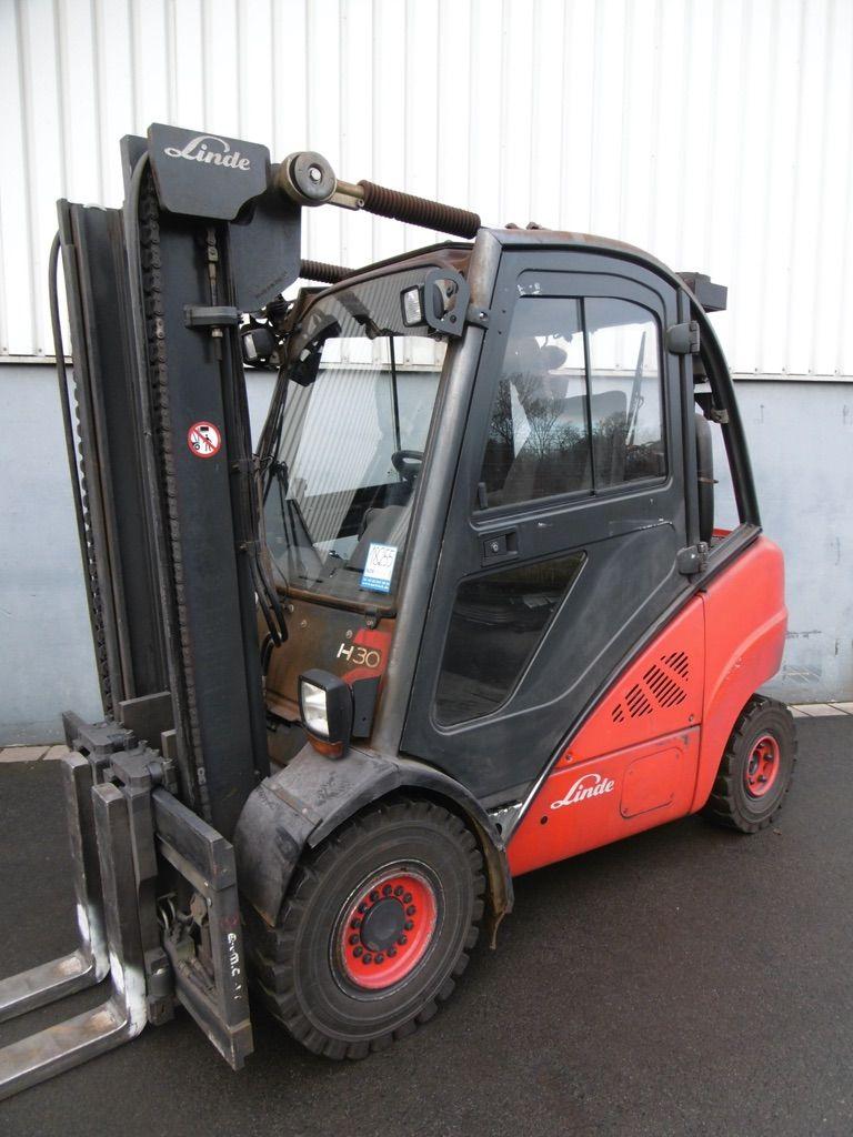 Linde H30T-393 Treibgasstapler www.nortruck.de