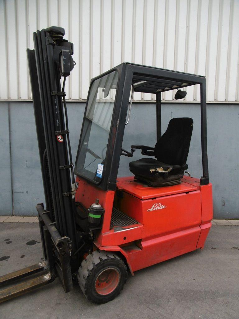 Linde E18-322 Elektro 3 Rad-Stapler www.nortruck.de