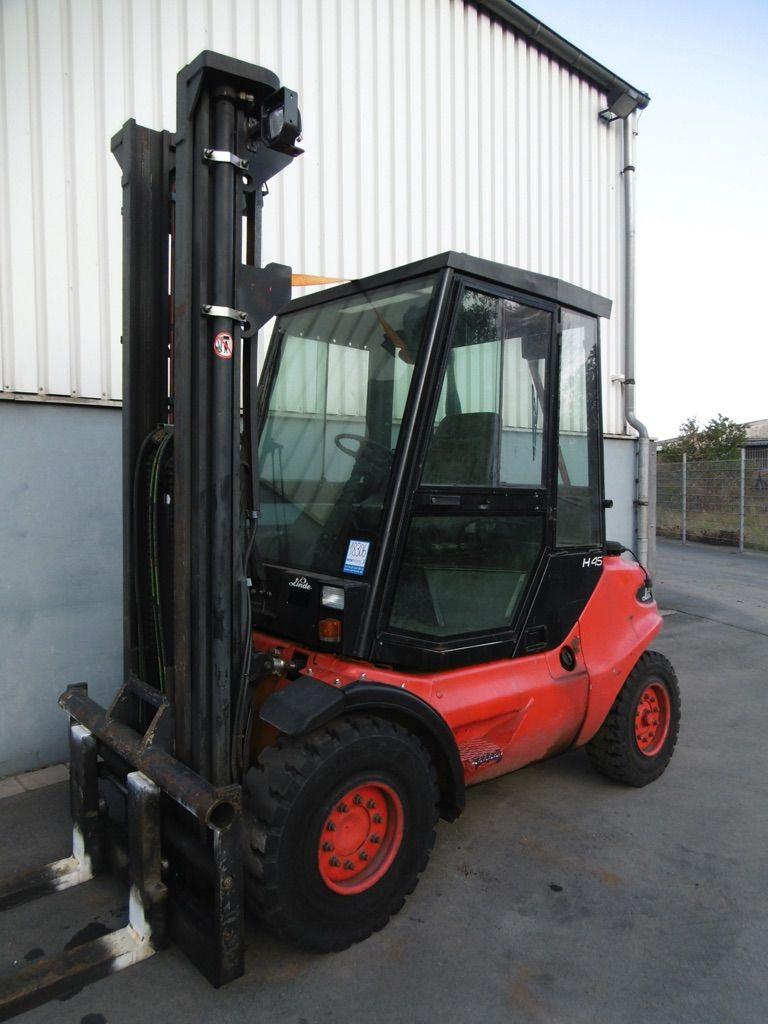 Linde H45D-352 Dieselstapler www.nortruck.de