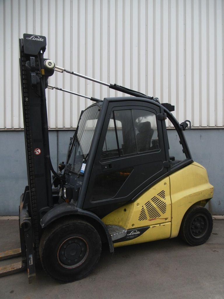 Linde H50D/600-394-EVO Dieselstapler www.nortruck.de