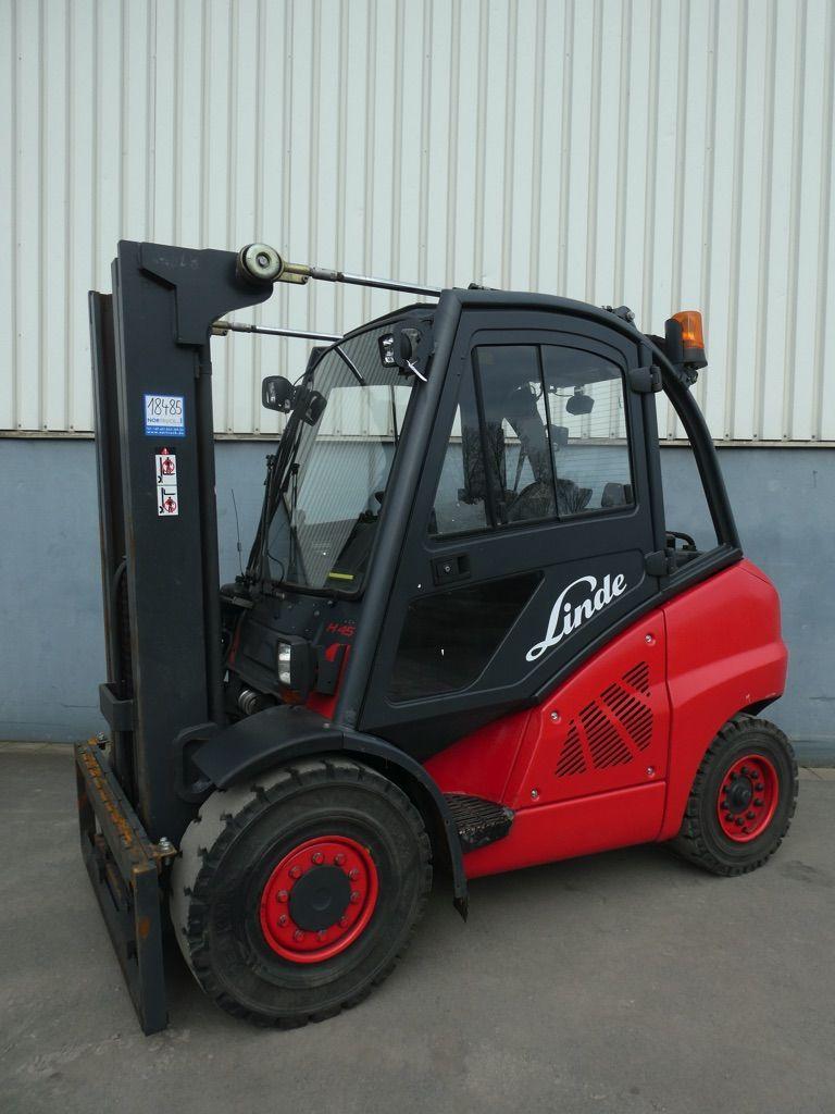 Linde H45D-394 Dieselstapler www.nortruck.de