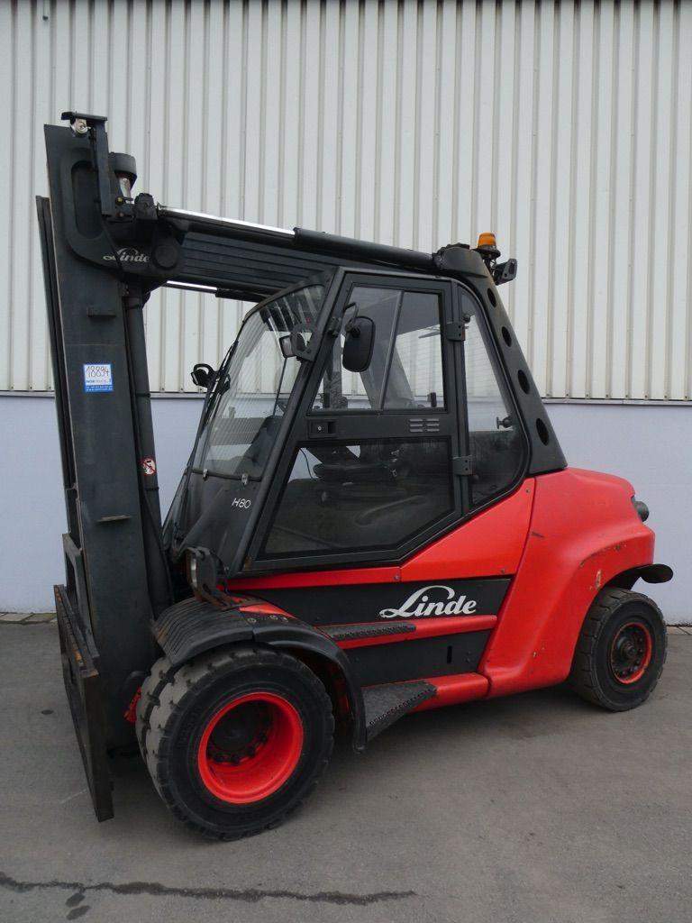 Linde H80D/900-396 Dieselstapler www.nortruck.de