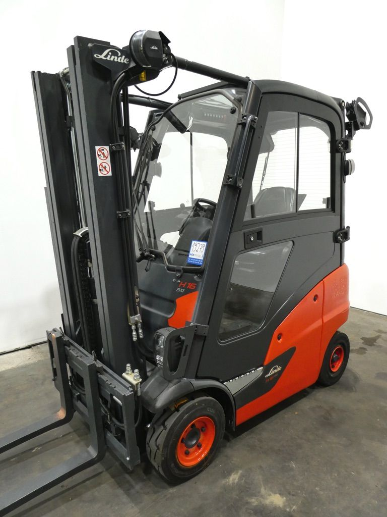 Linde H16D-391-EVO Dieselstapler www.nortruck.de