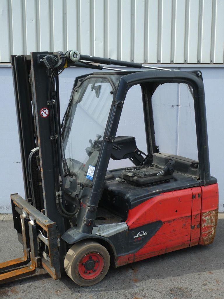 Linde E16L-386-EVO Elektro 3 Rad-Stapler www.nortruck.de
