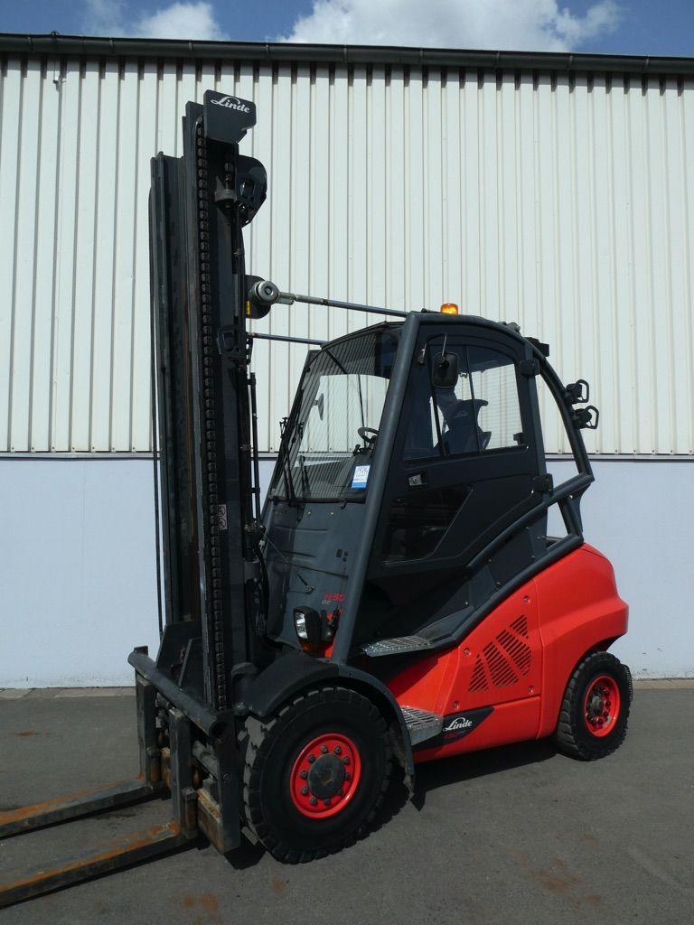 Linde H50D/600-394-EVO Diesel Forklift www.nortruck.de
