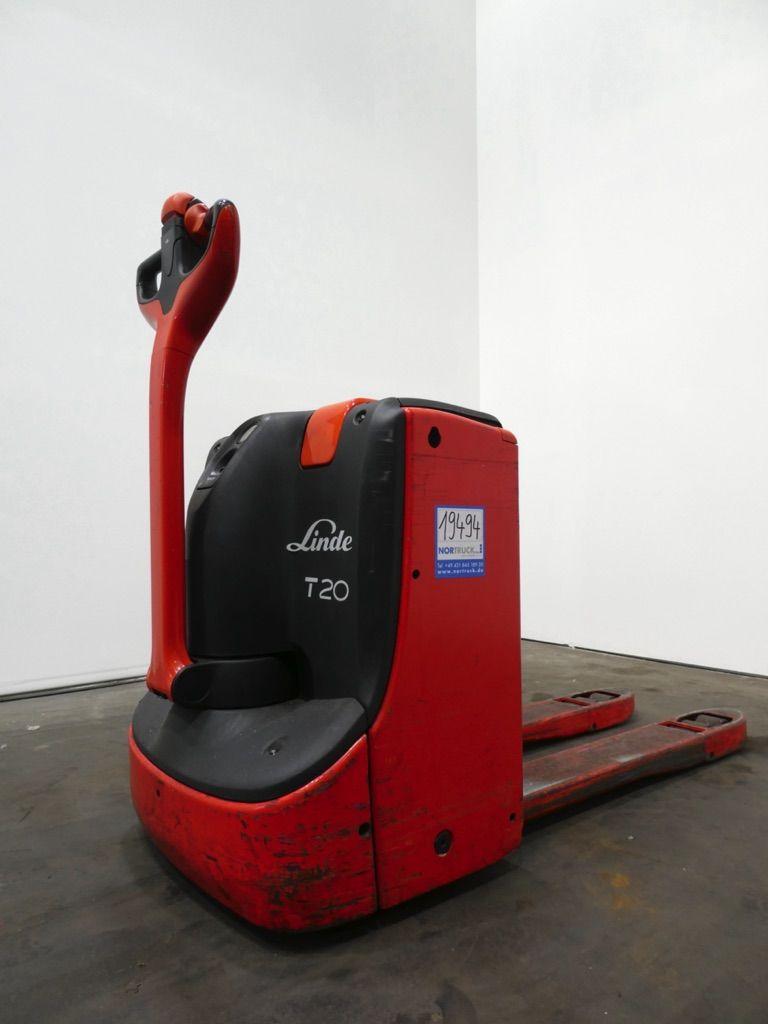 Linde T20-1152 Niederhubwagen www.nortruck.de