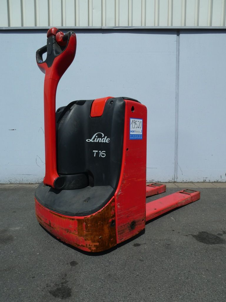 Linde T16-1152 Niederhubwagen www.nortruck.de