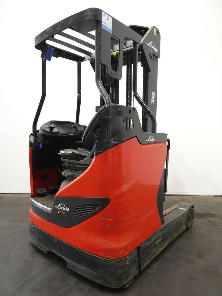Linde R14-1120 -DRIVE IN- Schubmaststapler www.nortruck.de