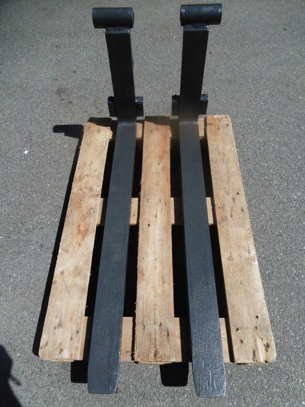 *Sonstige ISO2A 1200x100x40 Wellengabeln Gabeln www.nortruck.de