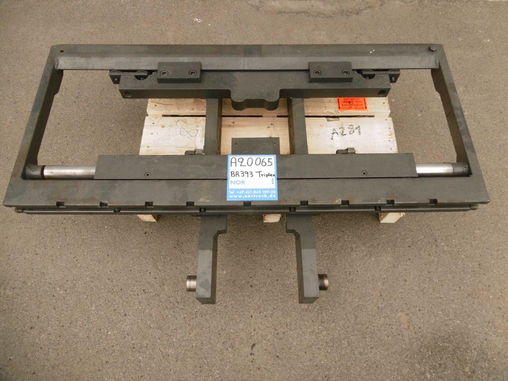 Linde Gabelträger für Triplex M188, BR393 Gabelträger www.nortruck.de