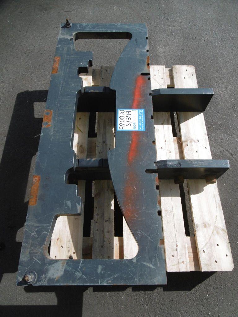 Linde Gabelträger für Standard M189, BR394 Gabelträger www.nortruck.de