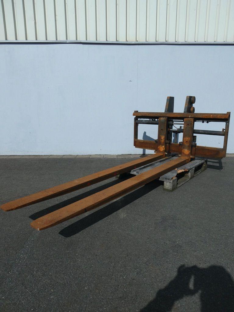 *Sonstige Hagabergs D4-50/1450, Triplex M1516, Linde BR388 Zinkenverstellgerät www.nortruck.de