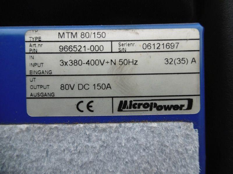 *Sonstige Micropower MTM 80V/150A Ladegerät www.nortruck.de