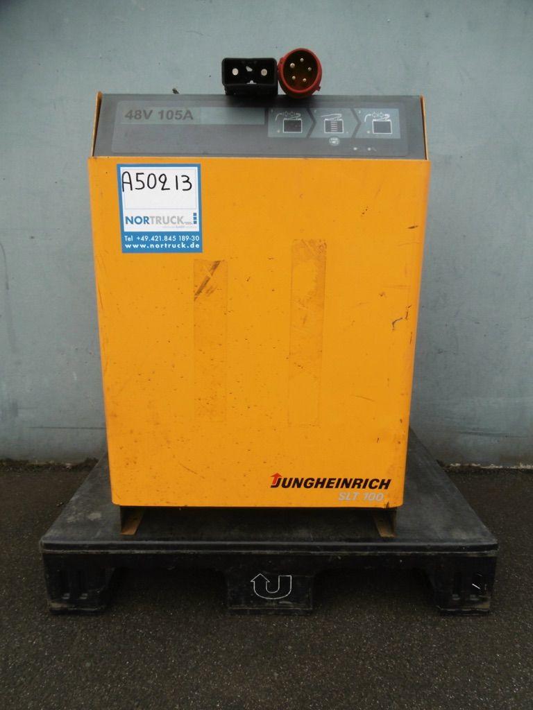 Jungheinrich D400V/G48V/105A B-SLT 100 Ladegerät www.nortruck.de