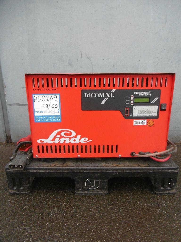 Linde D48V/100A WpWan Ladegerät www.nortruck.de
