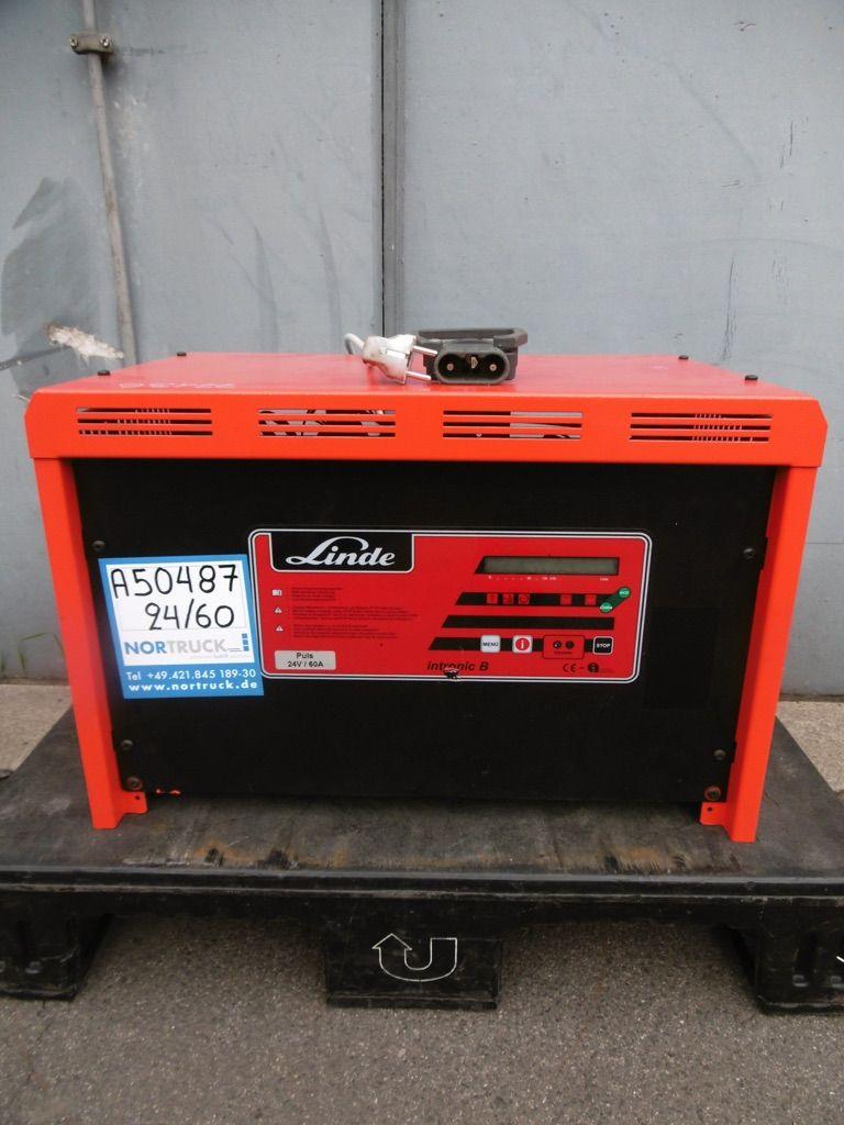 Linde E24V/60A Ladegerät www.nortruck.de