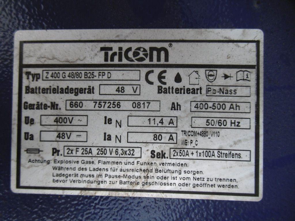 *Sonstige Tricom Z400 G48/80 B25-FP D Ladegerät www.nortruck.de