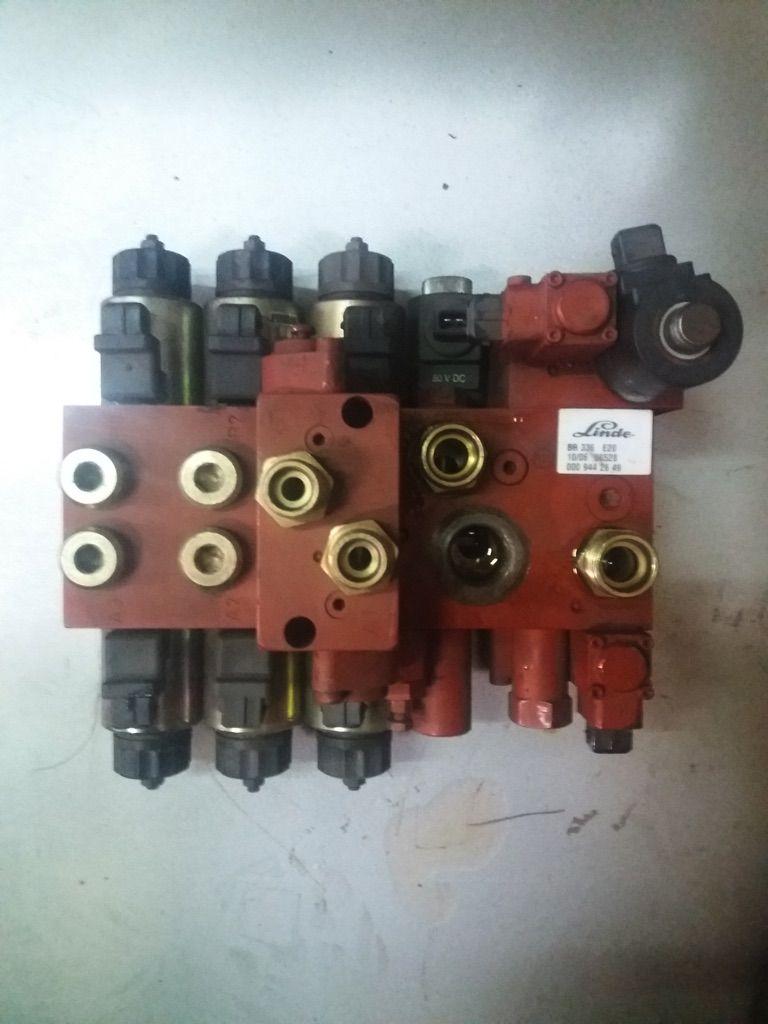 Linde Steuerblock 000 944 2649 DZH BR336-02/E20 Hydraulik www.nortruck.de