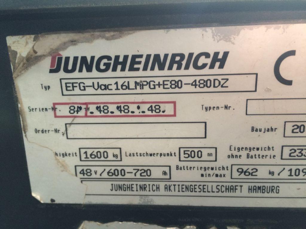 Jungheinrich-EFG vac 16-Elektro 4 Rad-Stapler-www.staplertechnik.at