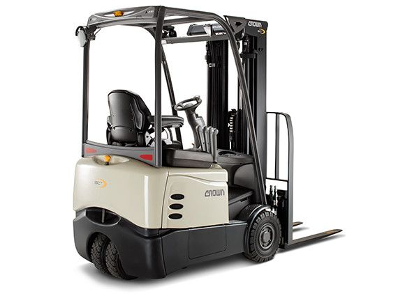 Crown SCT6040-1.6 Electric 3-wheel forklift www.staplertechnik.at