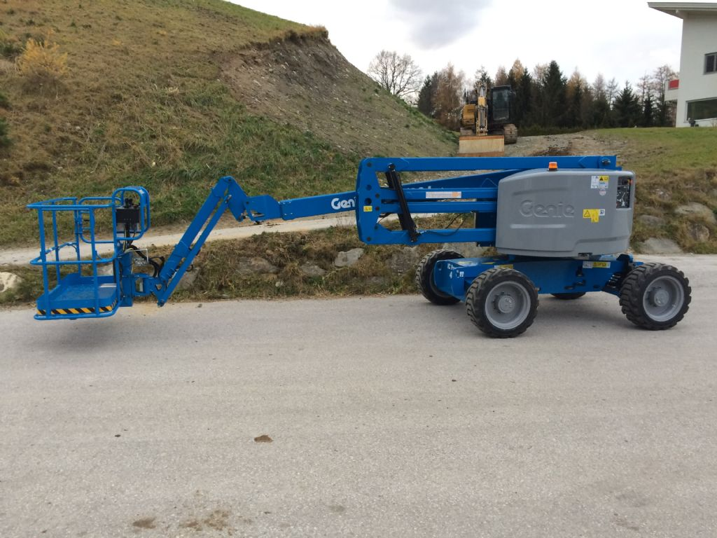 Genie Z 51/30J Articulated Jib Platforms www.staplertechnik.at