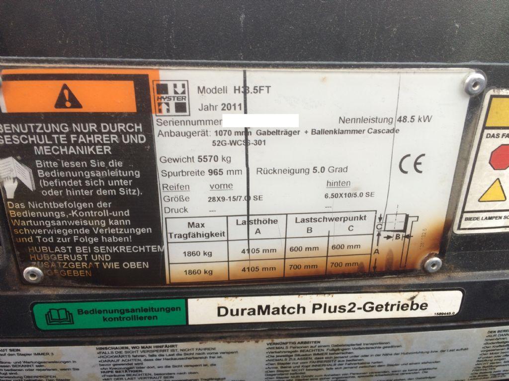 Hyster-H 3.5 FT-Dieselstapler-www.staplertechnik.at