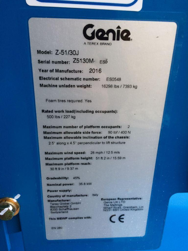 Genie-Z 51/30J-Gelenkteleskopbühne-www.staplertechnik.at