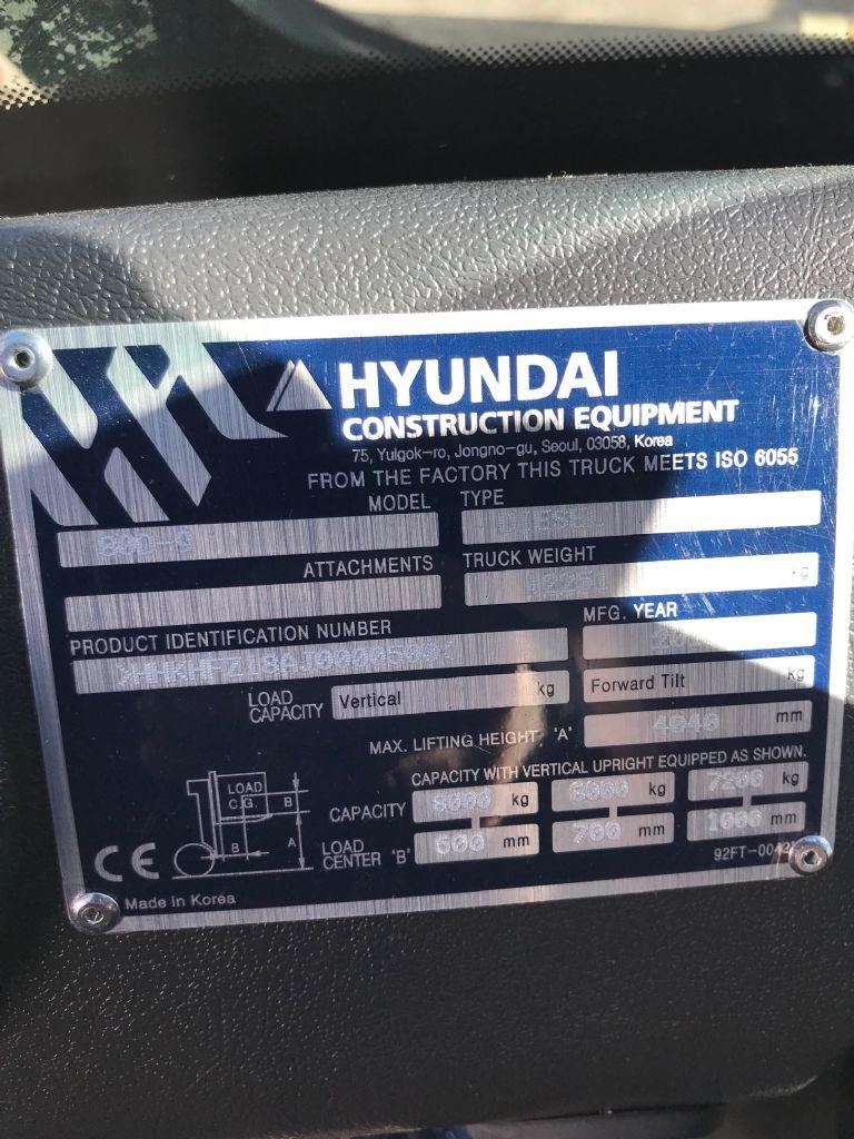 Hyundai 80D-9 Dieselstapler www.wst-stapler.at