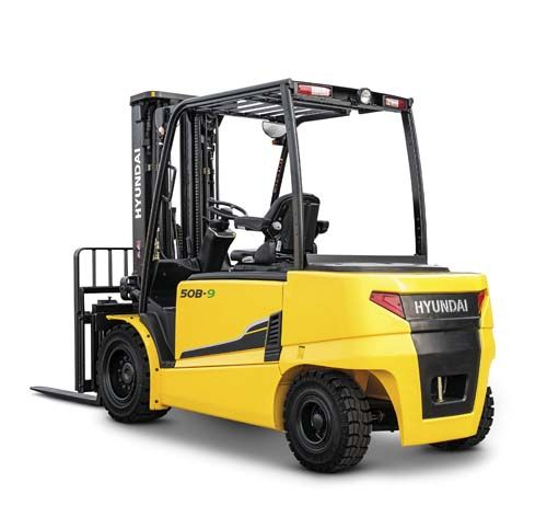 Hyundai 50B-9 Electric 4-wheel forklift www.staplertechnik.at