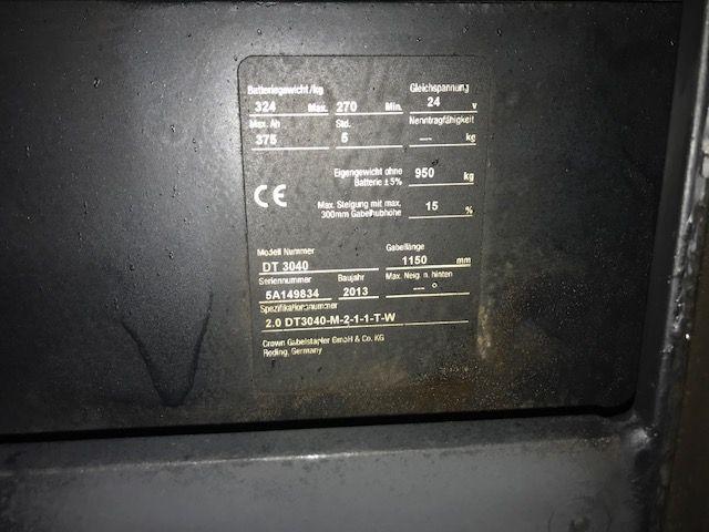 Crown-DT 3040-Hochhubwagen-www.staplertechnik.at
