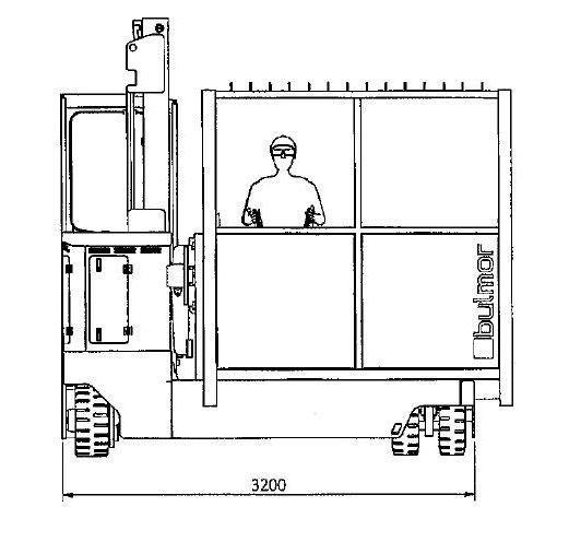 Bulmor-EMSII55.50-Personenkorb-www.staplertechnik.at