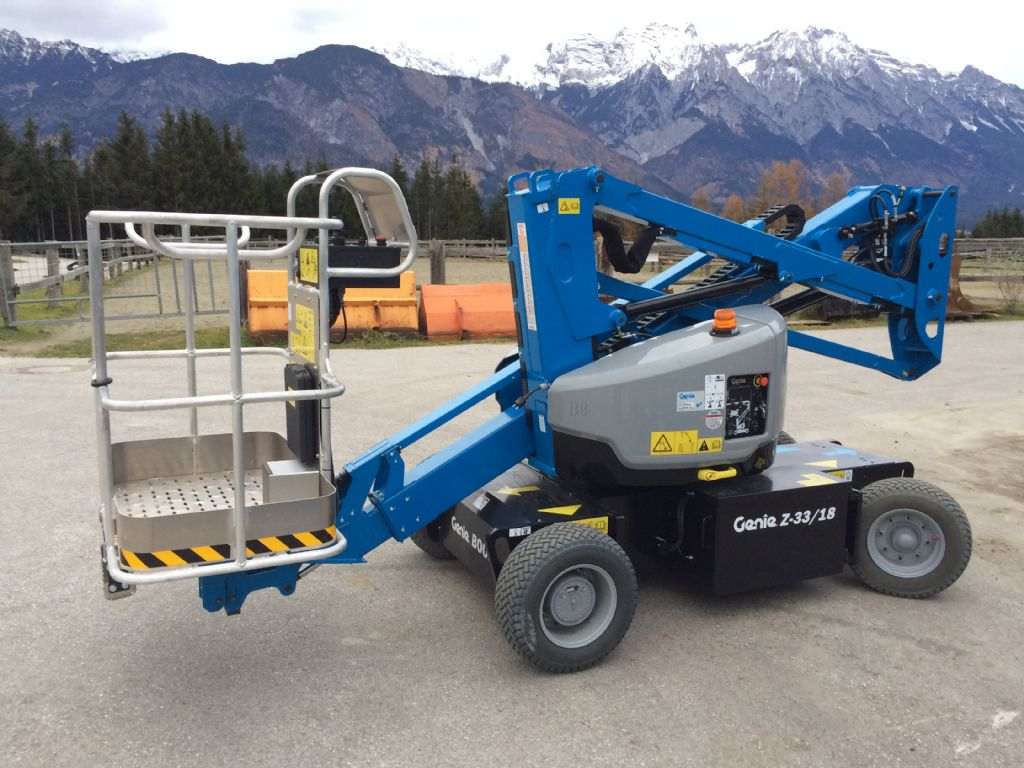 Genie Z 33/18 Articulated Jib Platforms www.staplertechnik.at