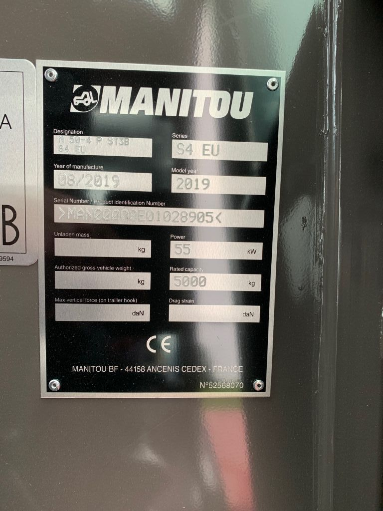 Manitou M50-4 Geländestapler www.staplertechnik.at