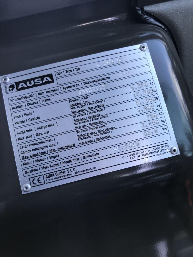 Ausa-C 500 H-Geländestapler-www.staplertechnik.at