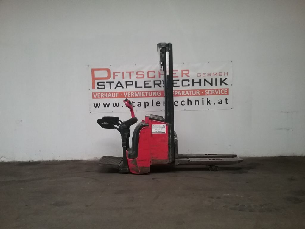 Linde L14 AP High Lift stacker www.staplertechnik.at