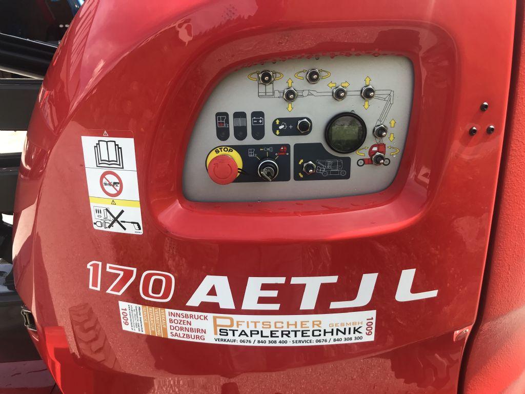 Manitou 170 AETJL Articulated Jib Platforms www.staplertechnik.at