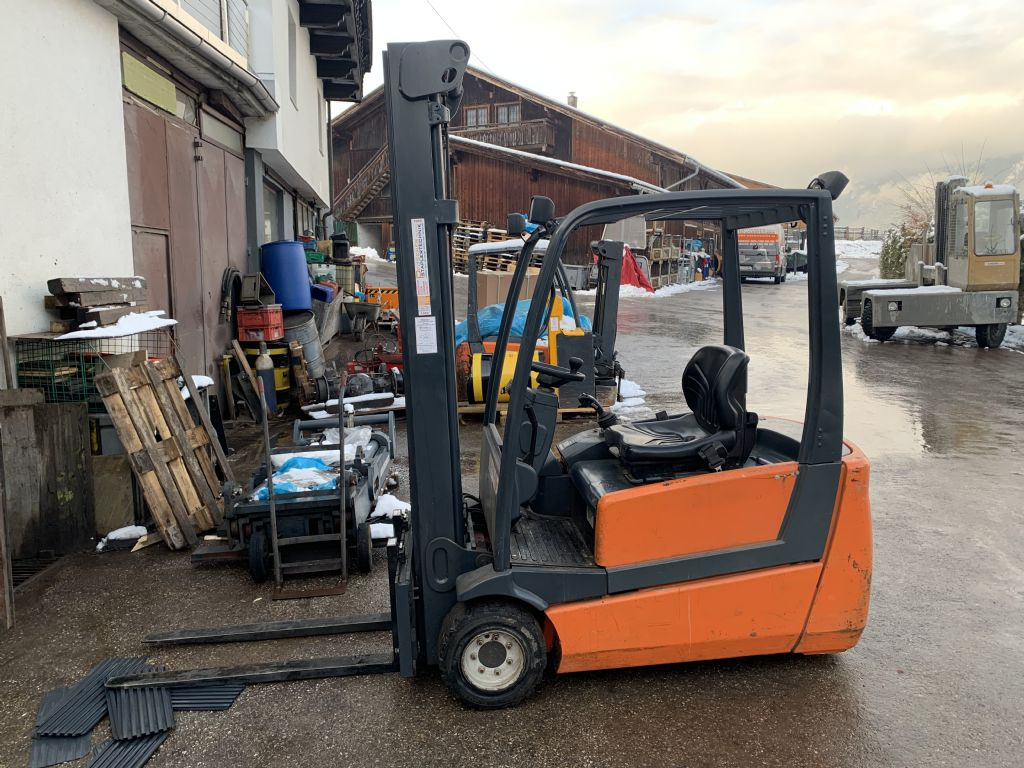 Steinbock Boss LE20-66 Electric 3-wheel forklift www.staplertechnik.at