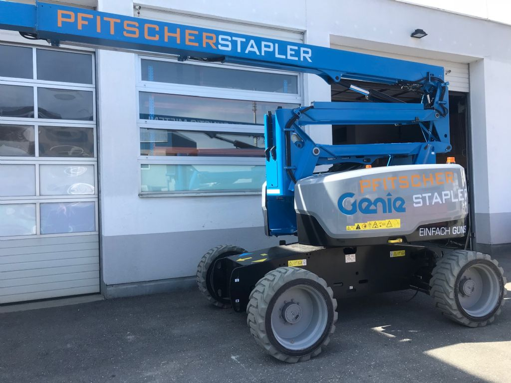 Genie Z60/37 Bi Energy Articulated Jib Platforms www.staplertechnik.at