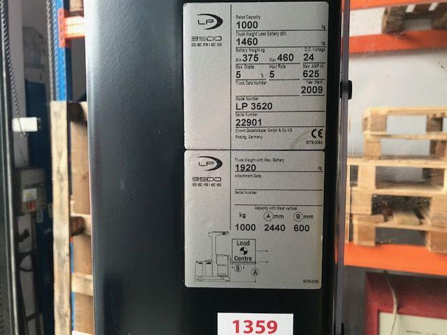 Crown-LP 3520-Mittelhubkommissionierer-www.staplertechnik.at
