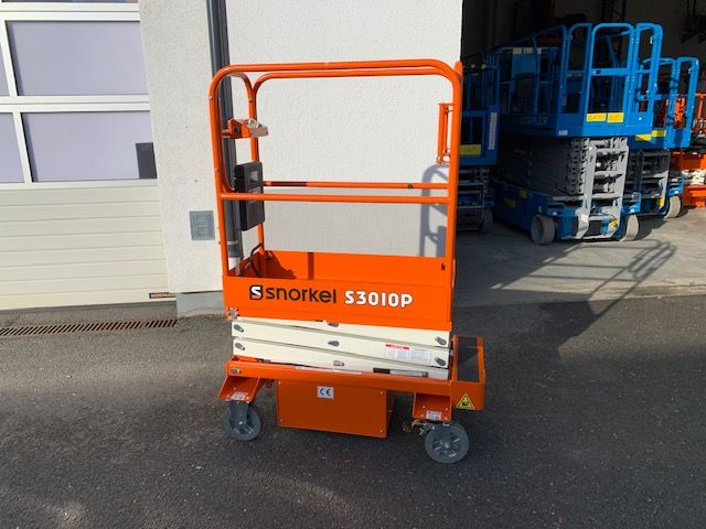 Snorkel S3010P Scissor Lifts www.staplertechnik.at