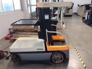 Crown Wave 60-118 High Level Order Picker www.staplertechnik.at