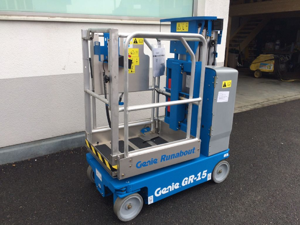 Genie GR 20 Vertical / Personnel Lifts www.staplertechnik.at