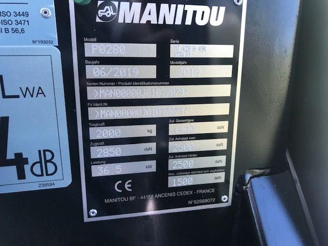 Manitou-MT 420-Teleskopstapler starr-www.staplertechnik.at