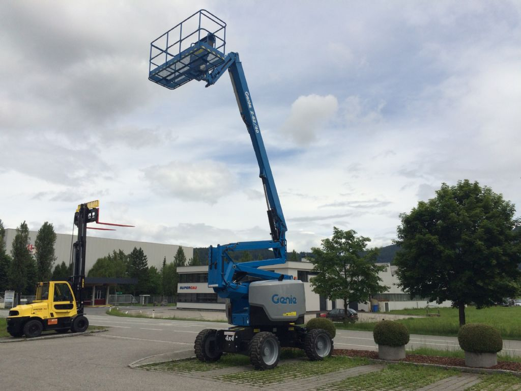 Genie Z 62/40 Articulated Jib Platforms www.staplertechnik.at